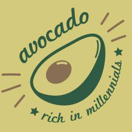 Avocado: Rich In Millennials T-Shirt