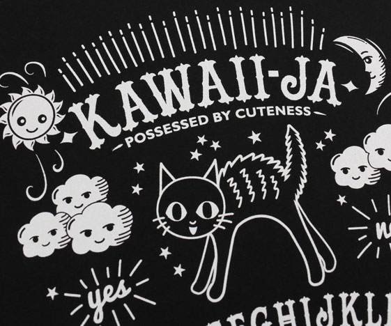 Kawaiija Print Close-up