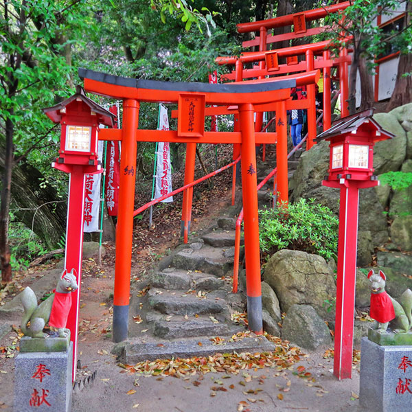 Inari shrine, Dazaifu