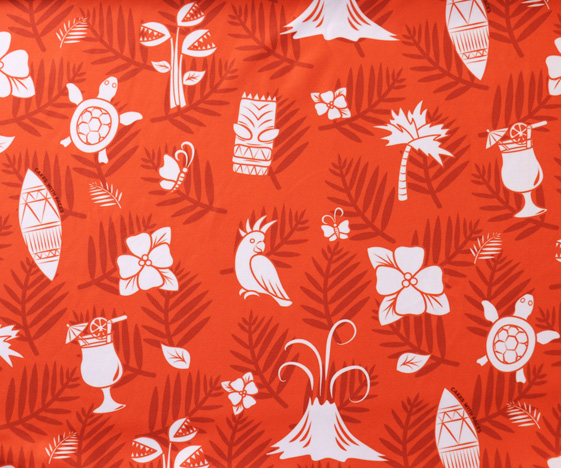Hawaiian Dress Fabric