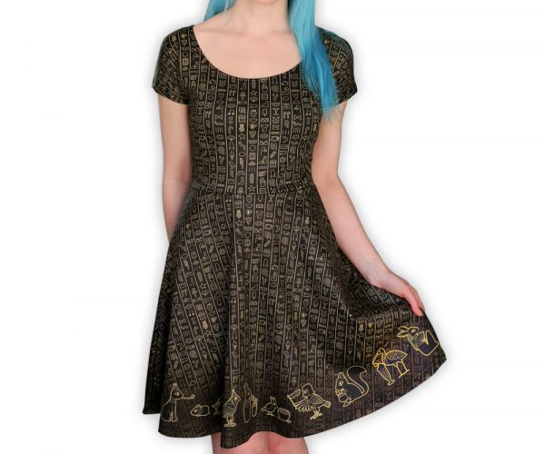 Kawaii Ancient Egypt Dress for Women