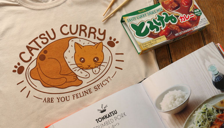 Catsu Curry T-Shirts & Hoodies