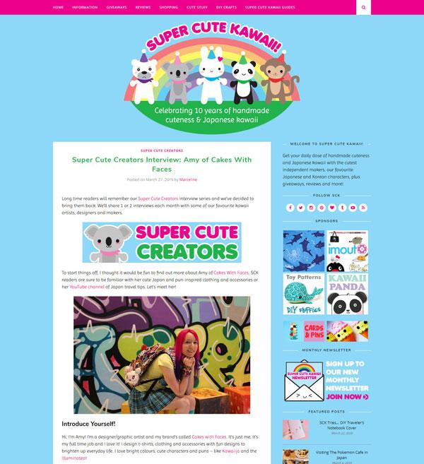 Super Cute Kawaii Blog