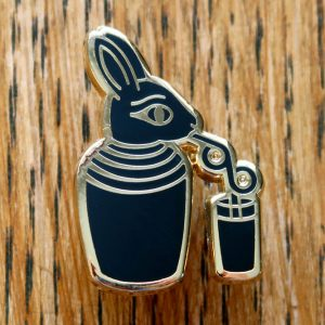 Ancient Egyptian Bunny Pin