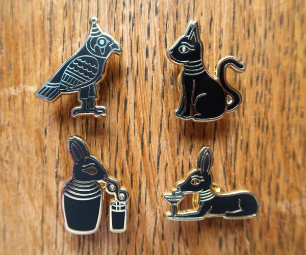 Party of Your Afterlife Pin Set