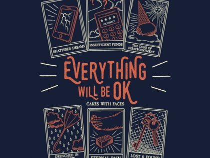 """Everything Will Be OK"" Tarot Cards T-Shirt Pre-order"