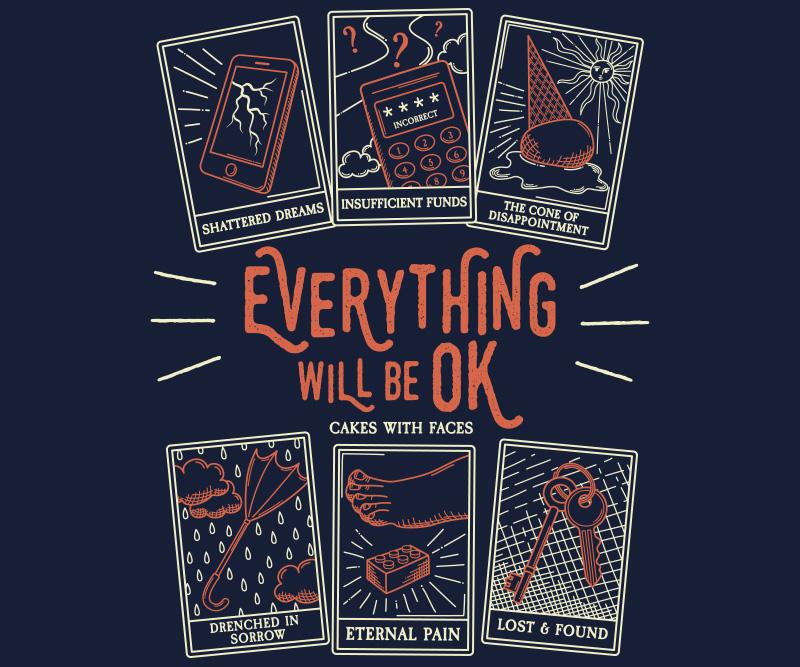 Tarot Card T-Shirt Print