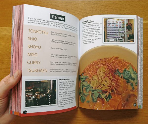 Cakes with Faces Japan Travel Guide Book