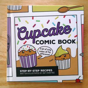 Cupcake Comic Book