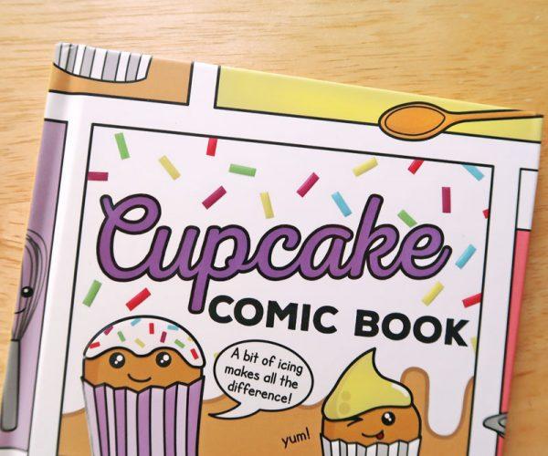 Cupcake Recipe Comic Book