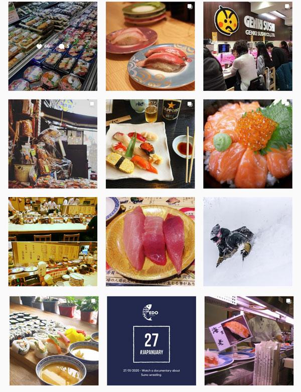 Japanuary - Sushi Photos