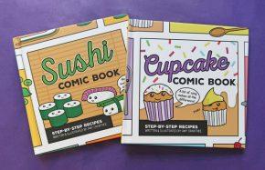 sushi-cupcake-books