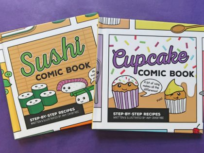 Cupcake and Sushi Comic Books Published