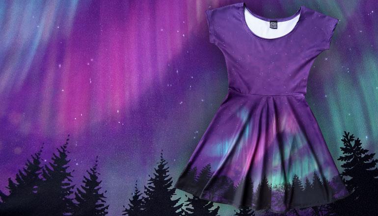 Aurora Borealis Dress