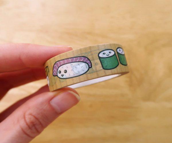 Kawaii Sushi Washi Tape
