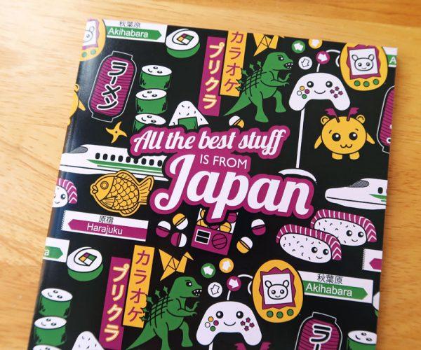Cute Japan A5 Notebook