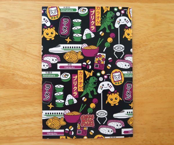 Bright, Colourful A5 Notebook