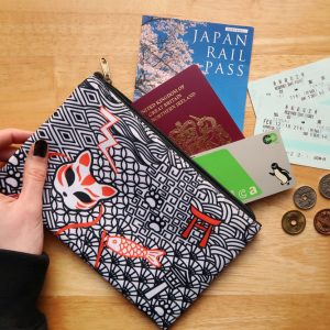 Japan Travel Pouch