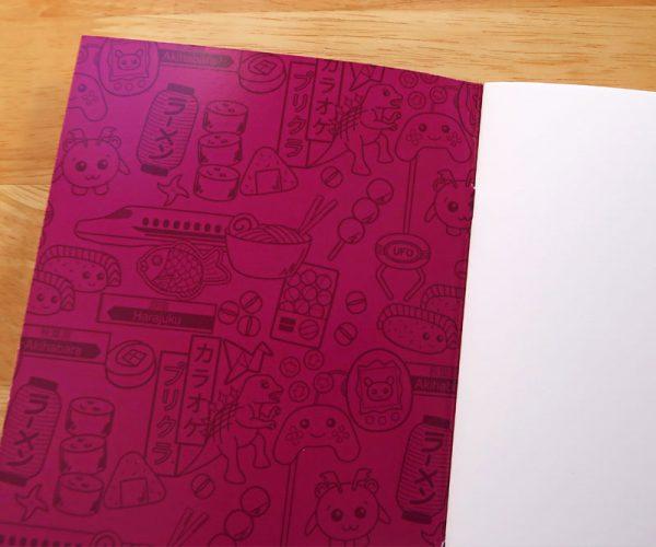 A5 notebook - Plain inside